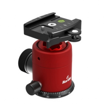 Markins Ball Head Q-Ball Q10i with lever release red
