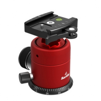 Markins Ball Head Q-Ball Q20i-Q with lever release red