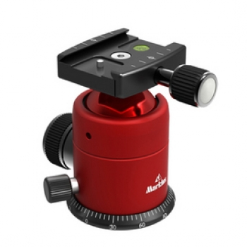 Markins Ball Head Q-Ball Q20i with Quick Release red