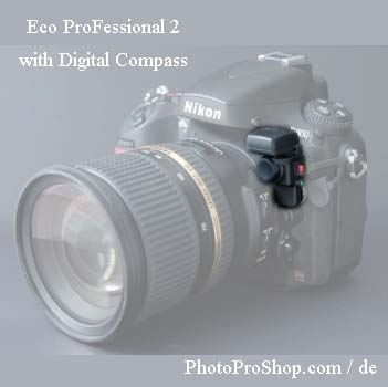 di-GPS Geotagger Eco ProFessional 2 DC with Compass