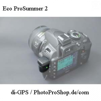 di-GPS Geotagger Eco ProSummer 2 DC with Compass