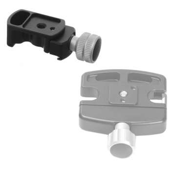 Kirk QRC-1QDSQ Quick Release Shoe with Square Lug Adapter