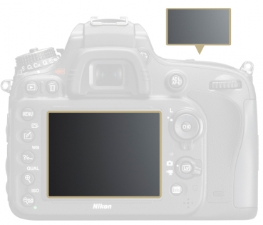 LCD Protective Film for D600 LP-S003