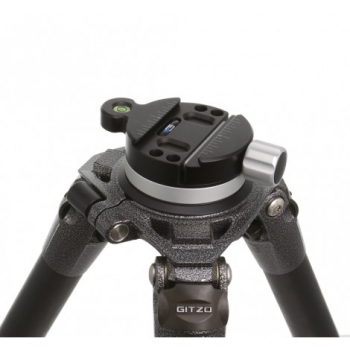 Tripod head quick disconnect system with (LARGE) plate