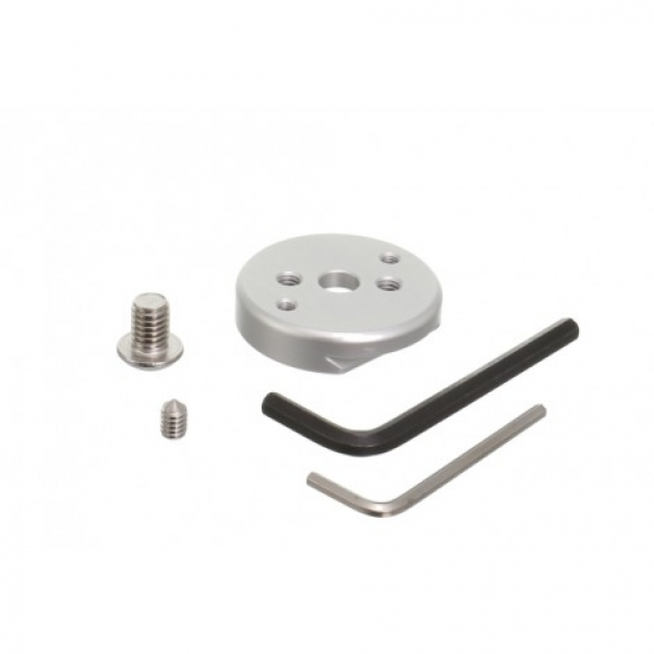 Tripod leveling base with Quick Release and mounting plate (SMALL)