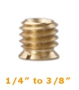 "Bushing 1/4"" to 3/8"" Adapter - long"