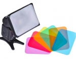 Micnova Universal Softbox with Colored Gels Kit for Portable Flash