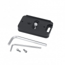 Kirk quick release camera plate for Fuji X-H1